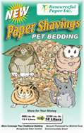Paper Shavings Pet Bedding